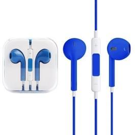EarPods met Wired controle en Mic  voor iPhone  iPad  iPod  Galaxy  Huawei  Xiaomi  Google  HTC  LG en andere Smartphones(Blue)