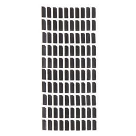 100 stuks katoen blok voor iPhone 5 Front Camera