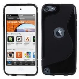 S Line TPU Case voor iPod touch 5 / 6 (zwart)