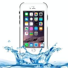 ABS materiaal Waterdicht beschermings hoesje met Button & Fingerprint Unlock & Touch Screen functie voor iPhone 6 & iPhone 6S (wit)