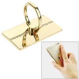 VENICEN draaibare Diamond Encrusted metaal ringhouder  voor iPhone  Galaxy  Huawei  Xiaomi  LG  HTC en andere slimme phones(Gold)