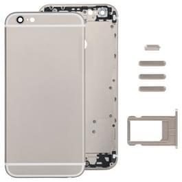 Volledige vergadering huisvesting Cover voor iPhone 6 Plus  met inbegrip van terug dekken & kaart lade & Volume Control toets & Power knop & Mute Switch Vibrator Key(Gold)