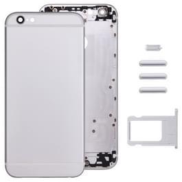 Volledige vergadering huisvesting Cover voor iPhone 6 Plus  met inbegrip van terug dekken & kaart lade & Volume Control toets & Power knop & Mute Switch Vibrator Key(Silver)