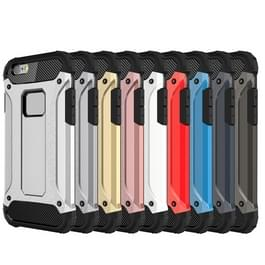 Voor iPhone 6 Plus & 6s Plus harde Armor TPU + PC combinatie Case(Blue)