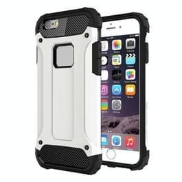 Voor iPhone 6 Plus & 6s Plus harde Armor TPU + PC combinatie Case(White)