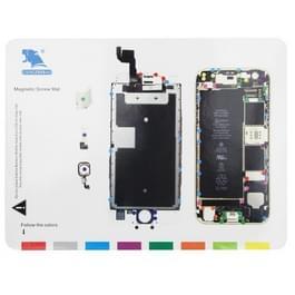 Magnetische schroeven Mat voor iPhone 6s  grootte: 24.7 x 18 7 cm