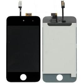 LCD scherm + Digitizer Touch paneel voor iPod Touch 4(Black)