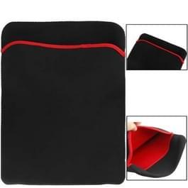 Zachte hoes hoesje-tas voor 14 inch Laptop(zwart)