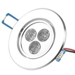 3W plafond licht omlaag gloeilamp  3 LED  Warm wit licht  AC 85-265V
