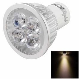 YouOKLight GU10 4W 350LM Spotlight lamp  4 High Power LED  Warm wit licht  3000K  AC 220V