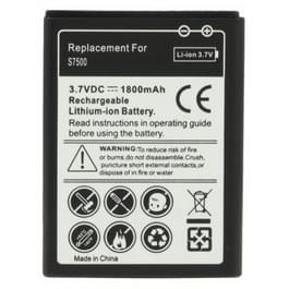 Vervangende batterij 1800mAh voor Galaxy Ace Plus / S7500 / S6500