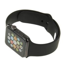 Hoge kwaliteit kleur scherm niet-werkende Fake Dummy  Plastic materiaal Display Model voor de Apple Watch 38mm(Black)