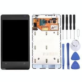 Originele LCD-scherm en Digitizer plenaire vergadering Digitizer voor Nokia 800