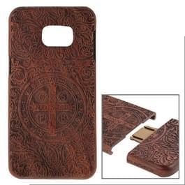 Constandine patroon scheidbaar Rosewood houten hoesje voor Samsung Galaxy S6 edge + / G928