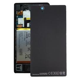 Aluminium vervangende batterij terug dekking voor Sony Xperia Z / L36h(Black)