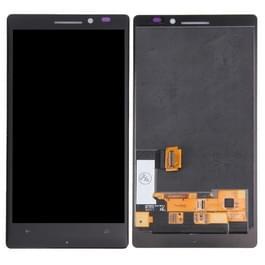 LCD-scherm + Touch Panel vervanging voor Nokia Lumia 930(Black)