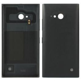 Vervanging van de dekking van de batterij terug voor Nokia Lumia 730(Black)