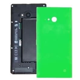 Vervanging van de dekking van de batterij terug voor Nokia Lumia 735(Green)