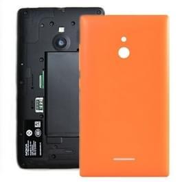 De dekking van de batterij terug voor Nokia XL (oranje)