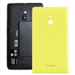 Batterij terug dekking voor Nokia XL (geel)