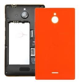 De dekking van de batterij terug voor Nokia Lumia X 2 (oranje)