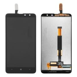 LCD-scherm en Digitizer voor Nokia Lumia 1320(Black)