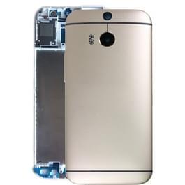 Achterzijde van de behuizing voor HTC One M8(Gold)