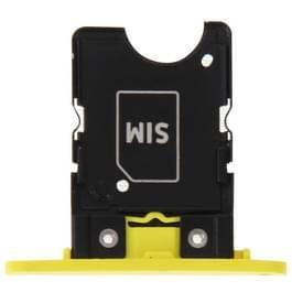 SIM kaart lade vervanging voor Nokia Lumia 1020(Yellow)