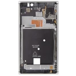 Front behuizing voor Nokia Lumia 925(Silver)