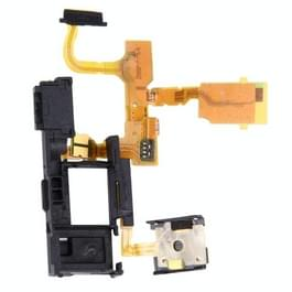 Power knop Flex kabel & Handset Flex kabel vervanger voor Sony Xperia TX / LT29i / LT29