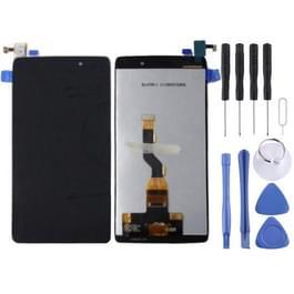 LCD-scherm en Digitizer voor Alcatel One Touch Idol 3 / OT-6039 / OT6039 / 6039(Black)