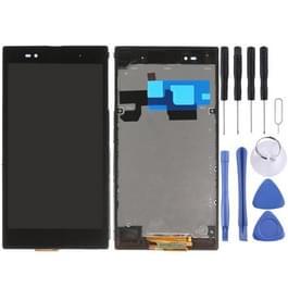 LCD-scherm + Touch Panel met Frame vervanger voor Sony Xperia Z Ultra / XL39h(Black)