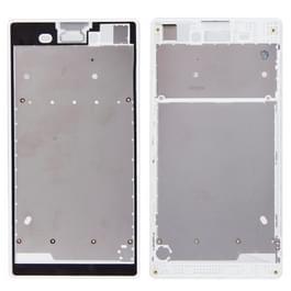Vervanging van de voorste behuizing met zelfklevend Sticker voor Sony Xperia T3(White)