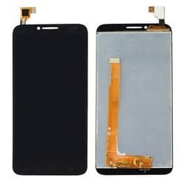 LCD-scherm en Digitizer voor Alcatel One Touch Idol 2 / 6037(Black)