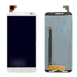 LCD-scherm en Digitizer voor Alcatel One Touch Idol 2 / 6037(White)