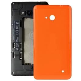 Glad oppervlakte kunststof achterkant behuizing Cover voor Microsoft Lumia 640(Orange)