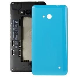Glad oppervlakte kunststof achterkant behuizing Cover voor Microsoft Lumia 640(Blue)