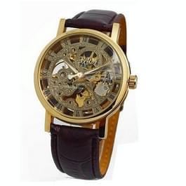 Water Resistant Skeleton horloge