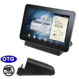 Desktop laad Cradle met Micro USB Sync Data functie voor Samsung Galaxy Tablet PC (P1000 / P1010 / P7500 / P7510 / P7300 / P7100)