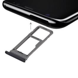 SIM-kaarthouder + Micro SD dienblad voor Galaxy S8(Black)