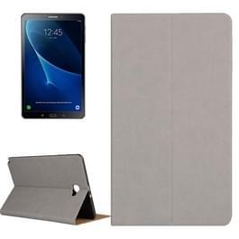 Samsung Galaxy Tab A 10.1 inch / P585 horizontaal Boomschors structuur PU leren Flip Hoesje met houder (grijs)