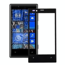 Voorste scherm buitenste glaslens voor Nokia Lumia 720 (zwart)