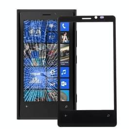 De Lens van het buitenste glas van de voorste scherm voor Nokia Lumia 920 (zwart)