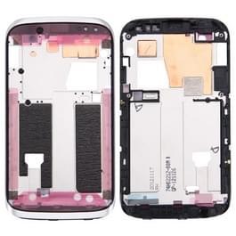 Voorzijde huisvesting LCD Frame Bezel plaat voor HTC Desire X / T328e(White)