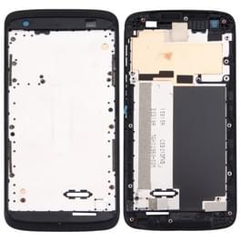 Voorste behuizing LCD Frame Bezel plaat voor HTC Desire 526(Black)