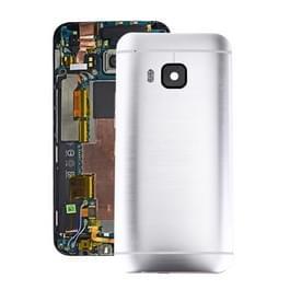 Achterzijde van de behuizing voor HTC One M9(Silver)
