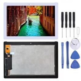 LCD-scherm en Digitizer voor Asus ZenPad 10 Z301MFL LTE Edition / Z301MF WiFi Edition 1920 x 1080 Pixel(White)