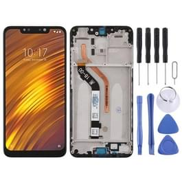 LCD-scherm en Digitizer met Frame voor Xiaomi Pocophone F1 (zwart)