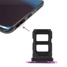 2 x de SIM-kaarthouder voor tegenstander R17 Pro(Purple)
