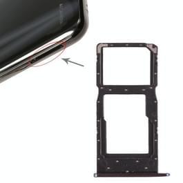 SIM-kaarthouder + SIM-kaarthouder / Micro SD Card lade voor Huawei Honor 10 Lite / P smart (2019)(Blue)
